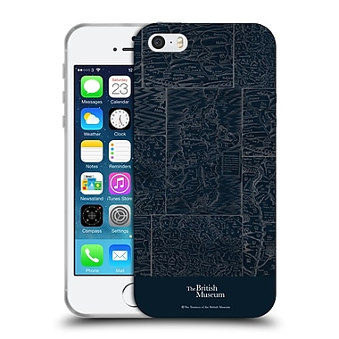 Official British Museum Adventure and Discovery Map Soft Gel Case for Apple iPhone 5 / 5s / SE