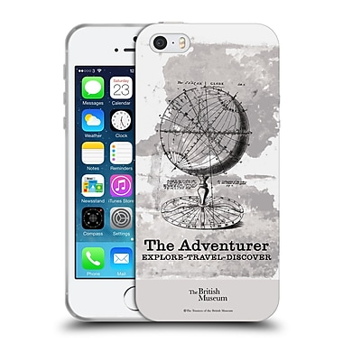 Official British Museum Adventure and Discovery Globe Soft Gel Case for Apple iPhone 5 / 5s / SE