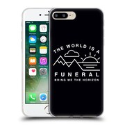 Official BRING ME THE HORIZON Key Art The World is a Funeral Soft Gel Case for Apple iPhone 7 Plus