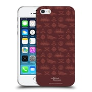 Official British Museum Adventure and Discovery Nautical Red Soft Gel Case for Apple iPhone 5 / 5s / SE