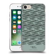 Official British Museum Adventure and Discovery Black Lines Soft Gel Case for Apple iPhone 7