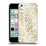 Official Caitlin Workman Organic Foliage Gold Soft Gel Case for Apple iPhone 5c