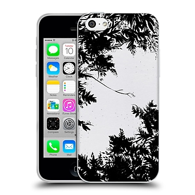 Official Caitlin Workman Organic Spring Night's Sky BW Soft Gel Case for Apple iPhone 5c