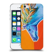 Official DAWGART WILDLIFE Horse Like The Wind Soft Gel Case for Apple iPhone 5 / 5s / SE