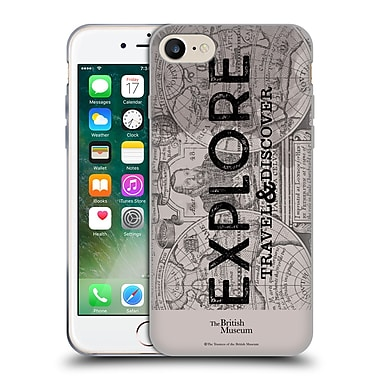 Official British Museum Adventure and Discovery Explore Soft Gel Case for Apple iPhone 7
