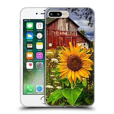 Official Celebrate Life Gallery Florals Barn Meadow Flowers Soft Gel Case for Apple iPhone 7 Plus