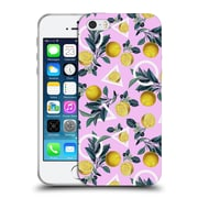 Official Burcu Korkmazyurek Tropical Geometric And Lemon Soft Gel Case for Apple iPhone 5 / 5s / SE