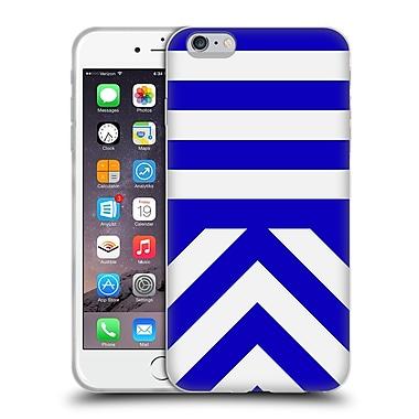 Official Caitlin Workman Modern Blue 03 Soft Gel Case for Apple iPhone 6 Plus / 6s Plus