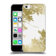 Official Caitlin Workman Organic Spring Night's Sky Gold Soft Gel Case for Apple iPhone 5c