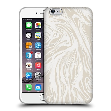 Official Caitlin Workman Patterns Marble Nude Soft Gel Case for Apple iPhone 6 Plus / 6s Plus