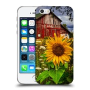 Official Celebrate Life Gallery Florals Barn Meadow Flowers Soft Gel Case for Apple iPhone 5 / 5s / SE