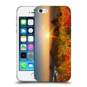 Official Celebrate Life Gallery Florals Fire On The Mountain Soft Gel Case for Apple iPhone 5 / 5s / SE
