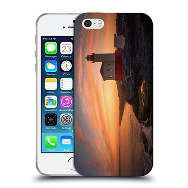 Official Darren White Sunrises and Sunsets Bandon Sundown Soft Gel Case for Apple iPhone 5 / 5s / SE