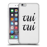 Official Caitlin Workman Typography Oui Oui Soft Gel Case for Apple iPhone 6 Plus / 6s Plus