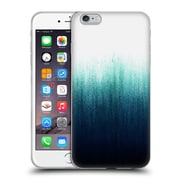 Official Caitlin Workman Patterns Teal Ombre Soft Gel Case for Apple iPhone 6 Plus / 6s Plus