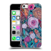 Official Carrie Schmitt Florals Forest Soft Gel Case for Apple iPhone 5c