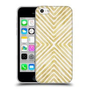 Official Caitlin Workman Patterns Gilded Bars Soft Gel Case for Apple iPhone 5c