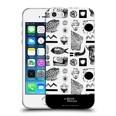 Official British Museum Community and Nurture BW Elements Soft Gel Case for Apple iPhone 5 / 5s / SE