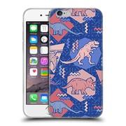 Official Chobopop Dinosaurs 90's Dino Serenity Rose Quartz Soft Gel Case for Apple iPhone 6 / 6s