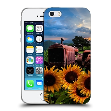Official Celebrate Life Gallery Florals Tractor Heaven Soft Gel Case for Apple iPhone 5 / 5s / SE