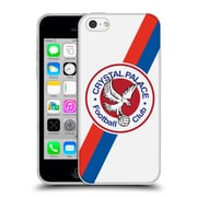 Official Crystal Palace FC 2016/17 Retro Badge 70's Eagle Logo Soft Gel Case for Apple iPhone 5c