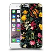 Official Burcu Korkmazyurek Birds and Floral Pink Soft Gel Case for Apple iPhone 6 / 6s