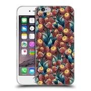 Official Burcu Korkmazyurek Floral 2 Botanical Forest II Soft Gel Case for Apple iPhone 6 / 6s