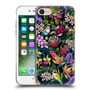 Official Celandine Tropical Pattern Stand Out Dark Soft Gel Case for Apple iPhone 7
