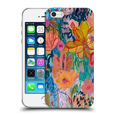 Official Carrie Schmitt Florals Exhalation Soft Gel Case for Apple iPhone 5 / 5s / SE