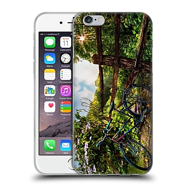 Official Celebrate Life Gallery Bicycle Morning Ride Soft Gel Case for Apple iPhone 6 / 6s