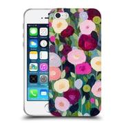 Official Carrie Schmitt Florals Night Garden Soft Gel Case for Apple iPhone 5 / 5s / SE