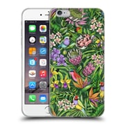 Official Celandine Tropical Pattern Stand Out Lime Soft Gel Case for Apple iPhone 6 Plus / 6s Plus