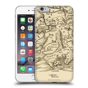 Official British Museum Images and Objects Map Of Sardinia Soft Gel Case for Apple iPhone 6 Plus / 6s Plus