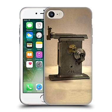 Official Celebrate Life Gallery Tools Horizontal Lathe Soft Gel Case for Apple iPhone 7