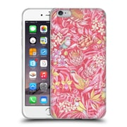 Official Celandine Tropical Pattern Stand Out Pink Pastel Soft Gel Case for Apple iPhone 6 Plus / 6s Plus