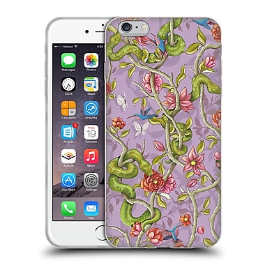 Official Celandine Wild Things Morning Song Lavender Soft Gel Case for Apple iPhone 6 Plus / 6s Plus