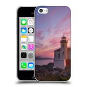 Official DARREN WHITE BEACHES AND OCEANS Storm At Face Rock Soft Gel Case for Apple iPhone 5c