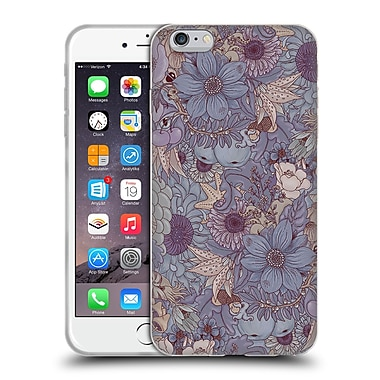 Official Celandine Wild Things The Wild Side Lavender Soft Gel Case for Apple iPhone 6 Plus / 6s Plus