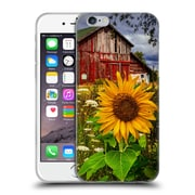 Official Celebrate Life Gallery Florals Barn Meadow Flowers Soft Gel Case for Apple iPhone 6 / 6s