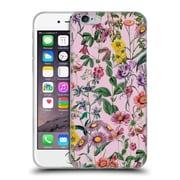 Official Burcu Korkmazyurek Floral Purple Soft Gel Case for Apple iPhone 6 / 6s