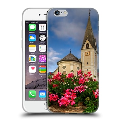 Official Celebrate Life Gallery Florals Austrian Church Soft Gel Case for Apple iPhone 6 / 6s 24091403
