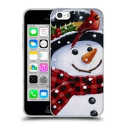 Official Christmas Mix Snowman William Vanderdasson Perched Soft Gel Case for Apple iPhone 5c