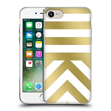 Official Caitlin Workman Modern Gold 03 Soft Gel Case for Apple iPhone 7