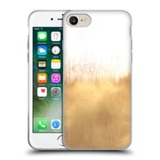 Official Caitlin Workman Modern Brushed Gold Soft Gel Case for Apple iPhone 7