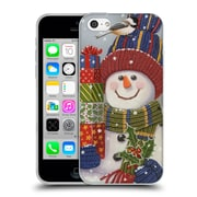Official Christmas Mix Snowman William Vanderdasson Presents Soft Gel Case for Apple iPhone 5c