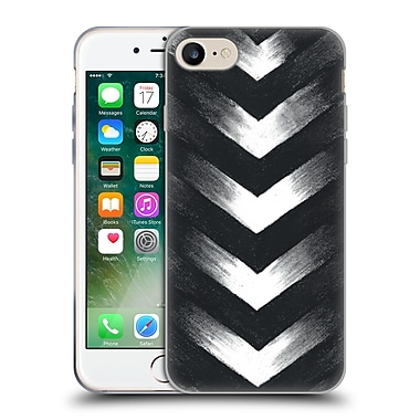 Official Caitlin Workman Modern Charcoal Point Soft Gel Case for Apple iPhone 7