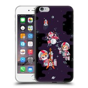 Official Chobopop Illustrations Space Rock Soft Gel Case for Apple iPhone 6 Plus / 6s Plus