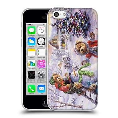 Official Christmas Mix Winter Wonderland Nicky Boehme Fun Loving Merriment Soft Gel Case for Apple iPhone 5c