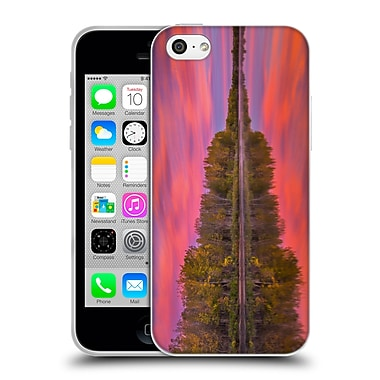 Official DARREN WHITE FALL COLOURS Flames On The Fence Master Soft Gel Case for Apple iPhone 5c