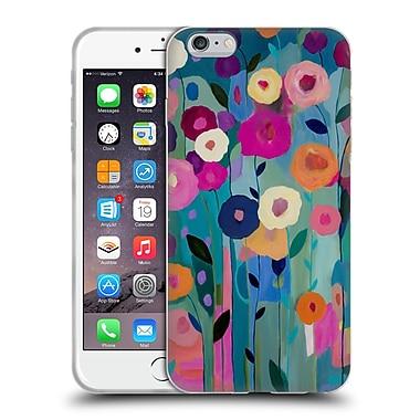 Official Carrie Schmitt Florals Nurture Your Soul Soft Gel Case for Apple iPhone 6 Plus / 6s Plus